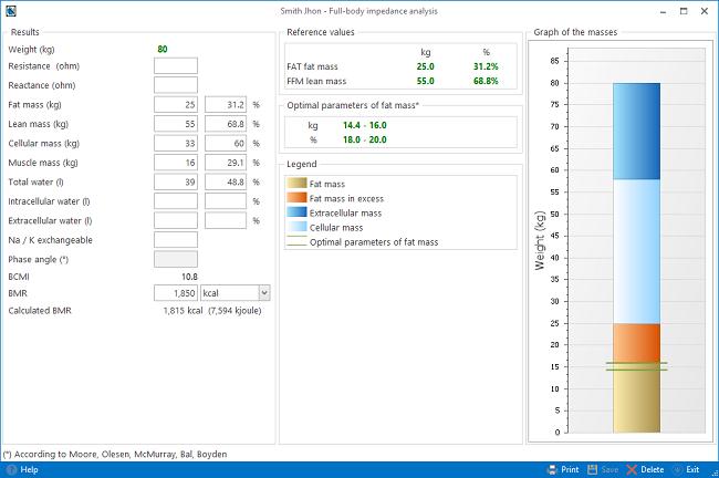 Progeo | Nutrigeo - Multiple choice diet Full-body impedance analysis