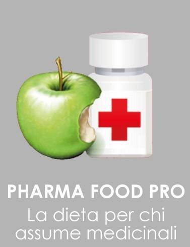 PROGEO | NUTRIGEO PHARMAFOOD - escludere dalla dieta gli alimenti sconsigliati in base ai farmaci eventualmente assunti dal paziente