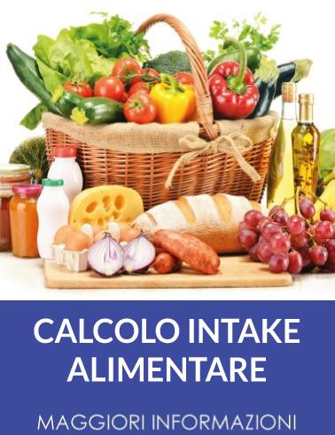 PROGEO | NUTRIGEO CALCOLO INTAKE ALIMENTARE - accurata valutazione dei consumi alimentari del Paziente
