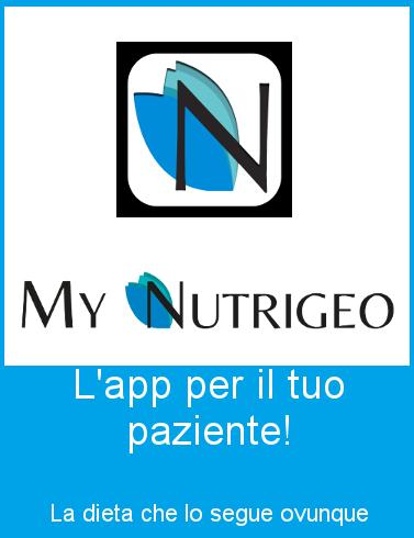 PROGEO | NUTRIGEO MYNUTRIGEO APP
