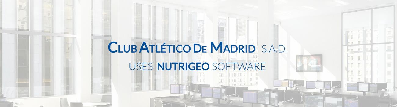 Progeo | Nutrigeo & Club Atlético De Madrid S.A.D