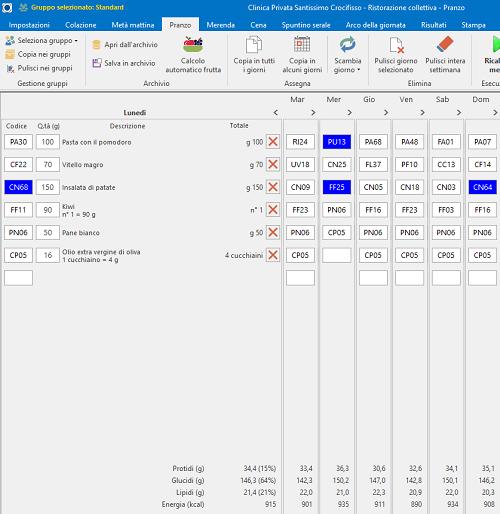Progeo   Convivia - software per la ristorazione collettiva.