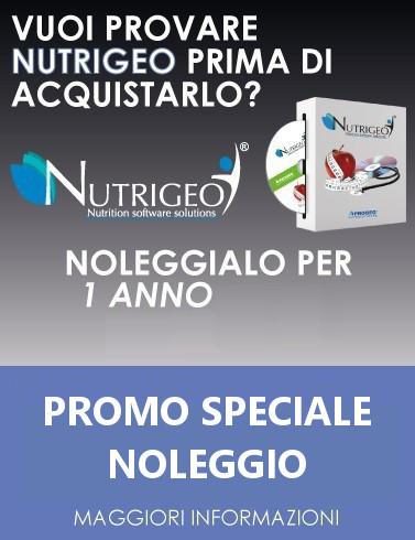 Progeo | Nutrigeo Noleggio - software per la creazione di piani alimentari innovativi