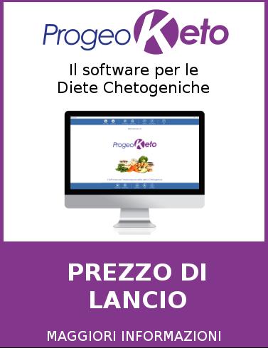Progeo | ProgeoKeto - Diete Chetogeniche - software per la creazione di diete Chetogeniche Personalizzate