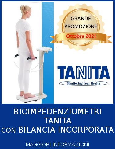 Progeo | Tanita bioimpedenziometri con bilancia - Promozione Ottobre 2021